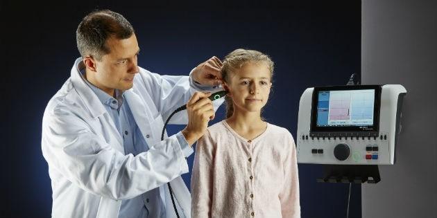 تمپانومتری برای شنوایی کودک